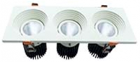 Downlight COB model V 3 Head 36W,
